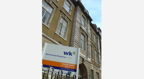 Westminster Kingsway College is a large Further Education College with four ...